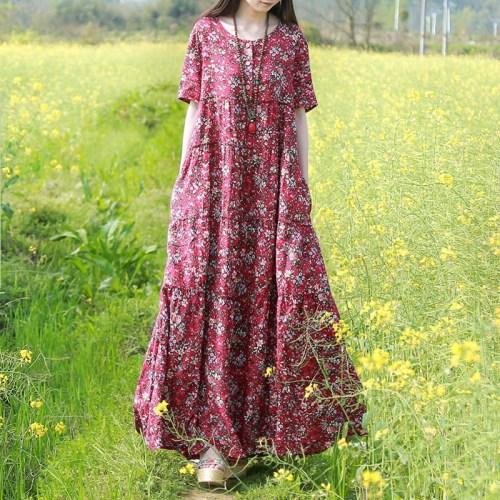 Chaos in Gangnam свободное платье в цветочек