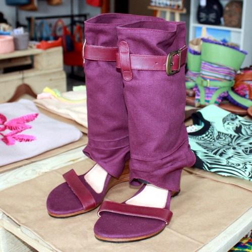 Annushka-shoes летние сапоги Швейцария