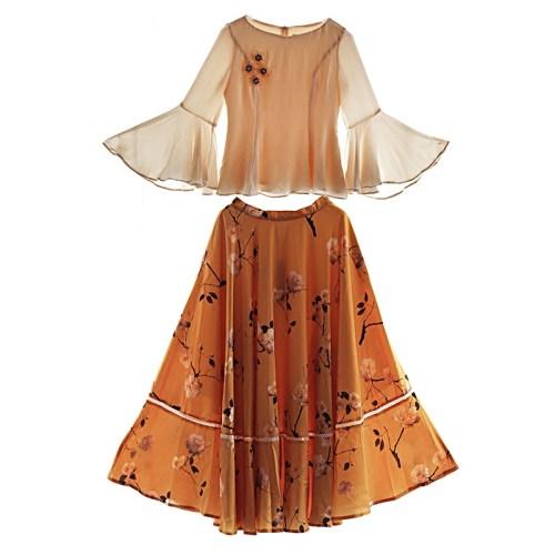 MOK костюм блуза и юбка