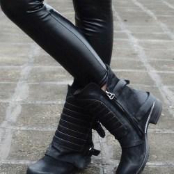 Provaperfetto полусапоги на низком каблуке