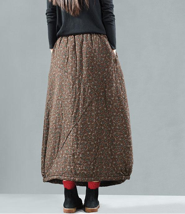 Sweet corset утеплённая юбка в цветочек