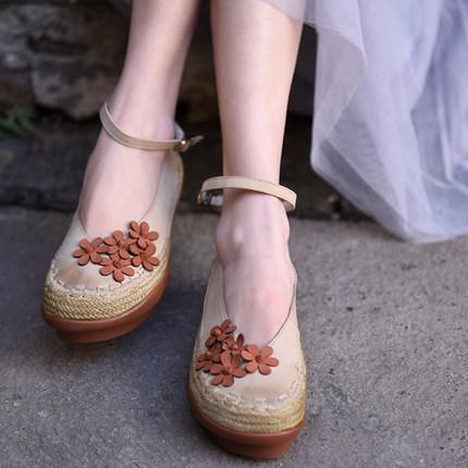 Artmu туфли на высокой подошве с цветами