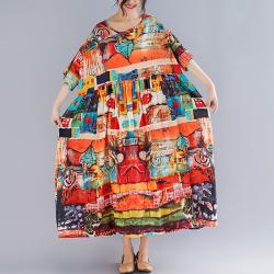Wuxi платье с принтом