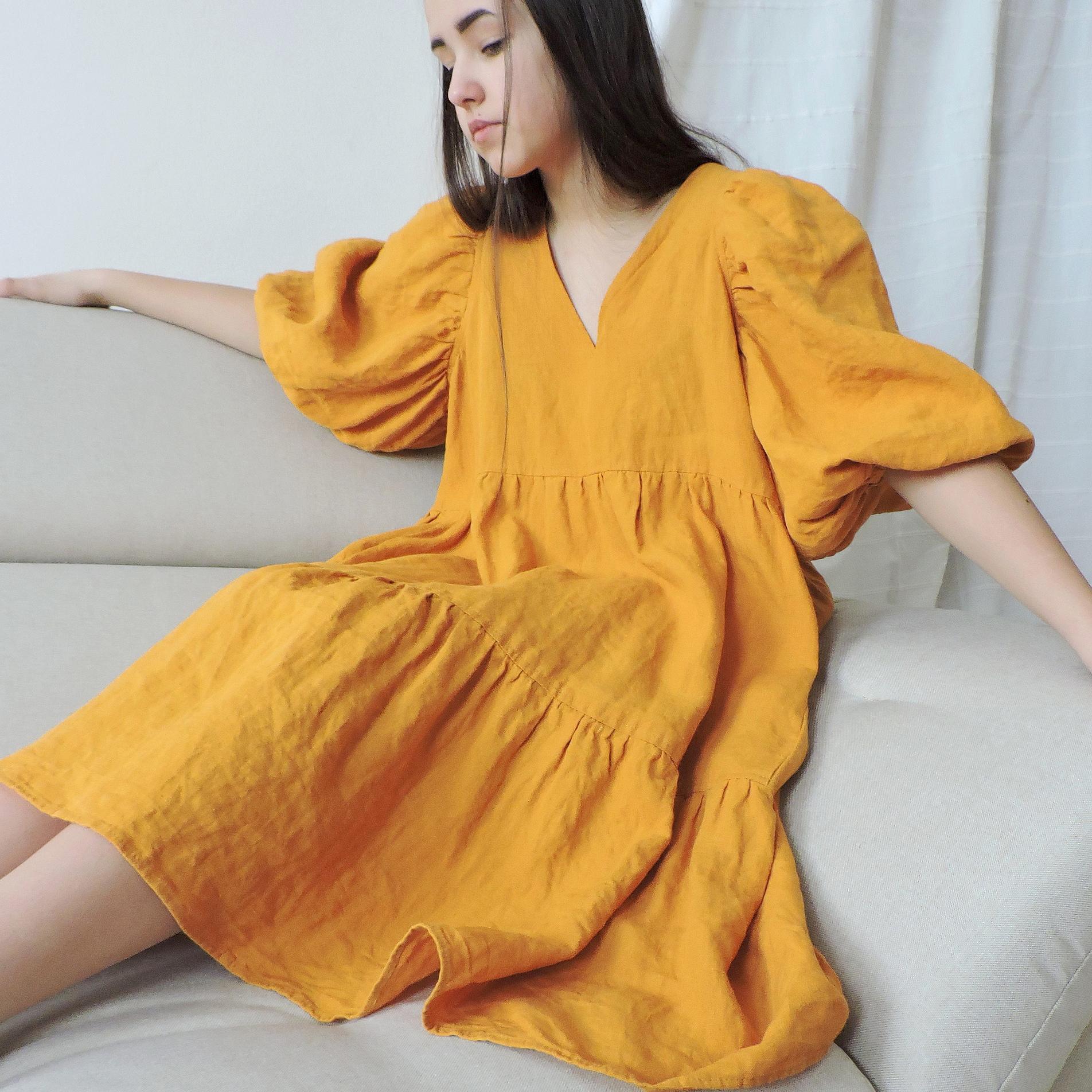 Cozy Robe платье ярусное