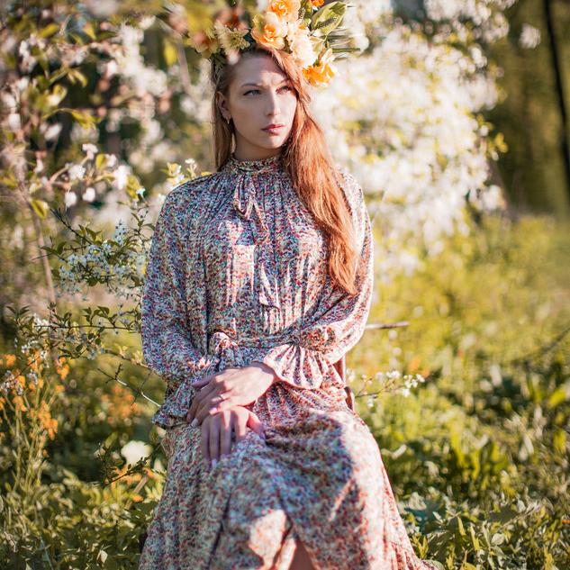 WonderMary платье Цветочная королева