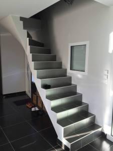 Remplacement d'un escalier - avant travaux