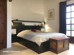 Suite rénovée avec lit king size