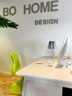 Bureau de la zone de travail de Bo Home Design