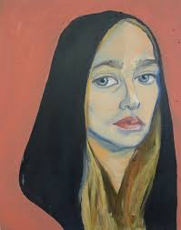 Painting of herself