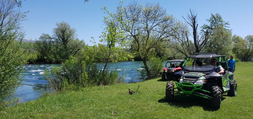 OFF-ROAD BUGGY TOUR IN SINJ!
