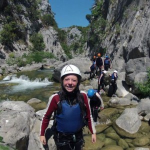 Boho travel art canyoning basic level