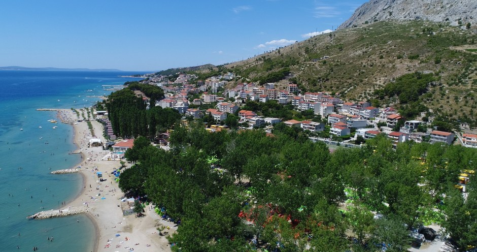The Campsite Beach in Omis