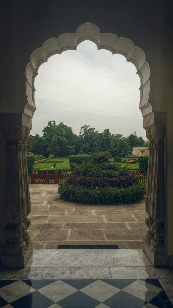 Patio, India, Rambagh Palace, Rambagh Hotel, Rag Group, Jaipur, Rajasthan