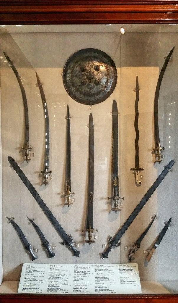swords, antique weapons, weaponry, museums, albert hall, india, travel
