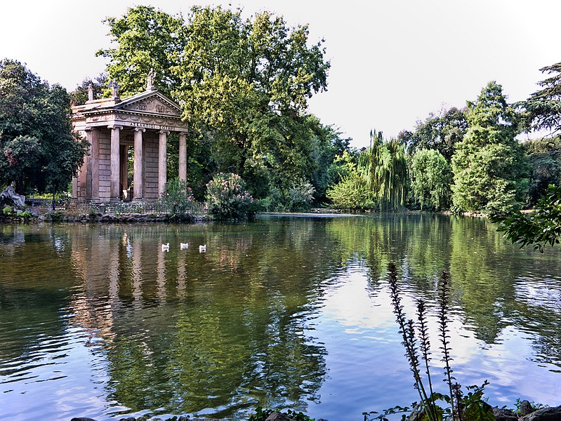 Temple of Aesculapius, Villa Borghese, Rome, Italy, Sights In Rome