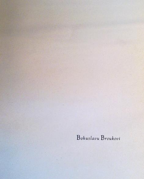 Věnování Konstantina Biebla (sb. Zrcadlo noci, 1939)