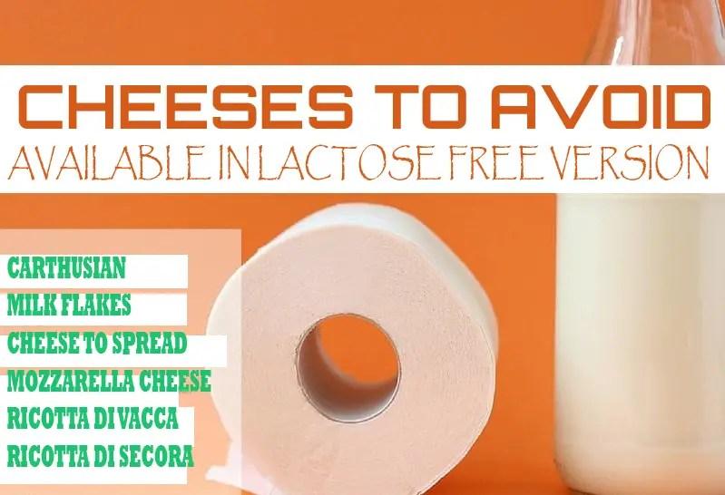 lactose-free cheeses