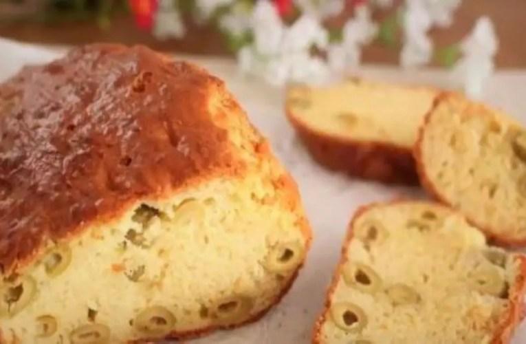 Italian Plum Cake With Olives