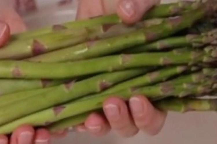 vegetarian carbonara asparagus