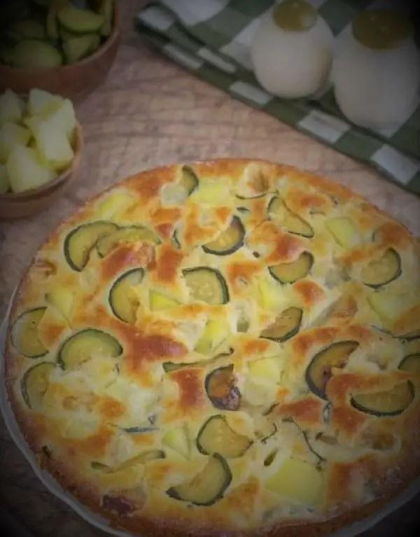 savoury vegetable cake recipe