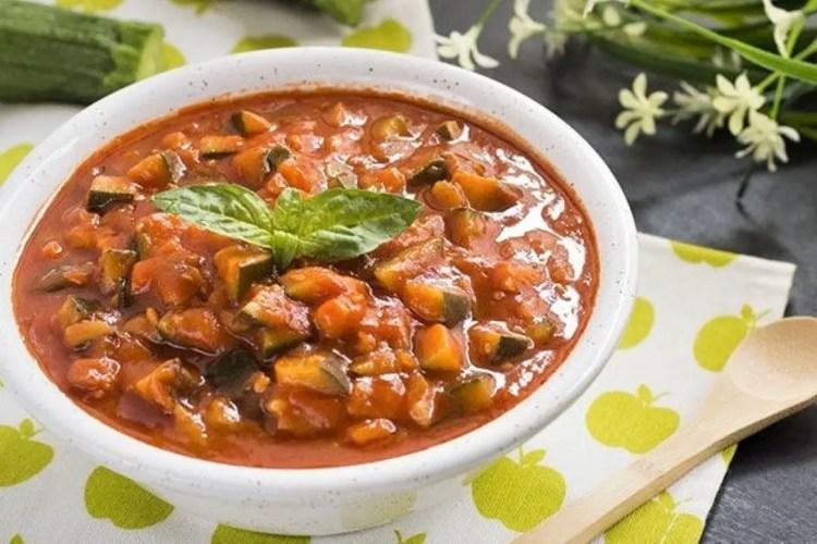 zucchini sauce