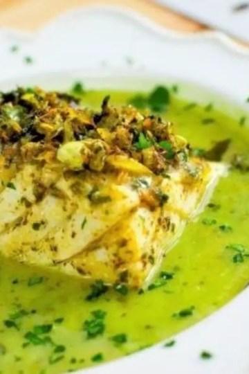 cod in green sauce