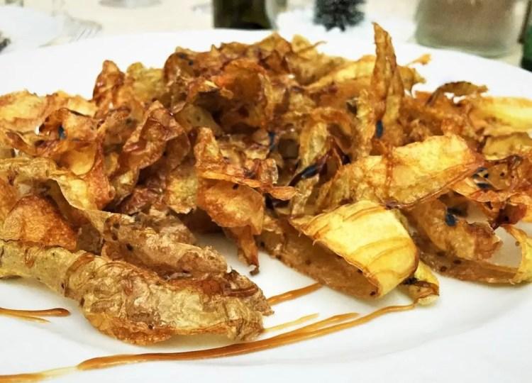 Potato peel recipe