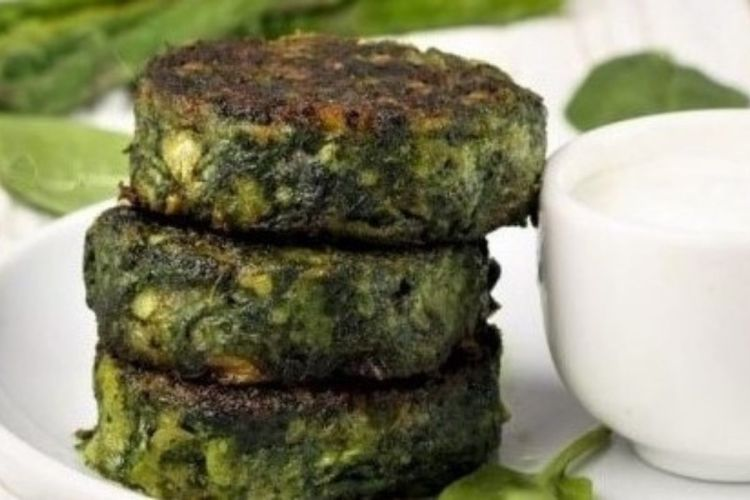 Asparagus fritters