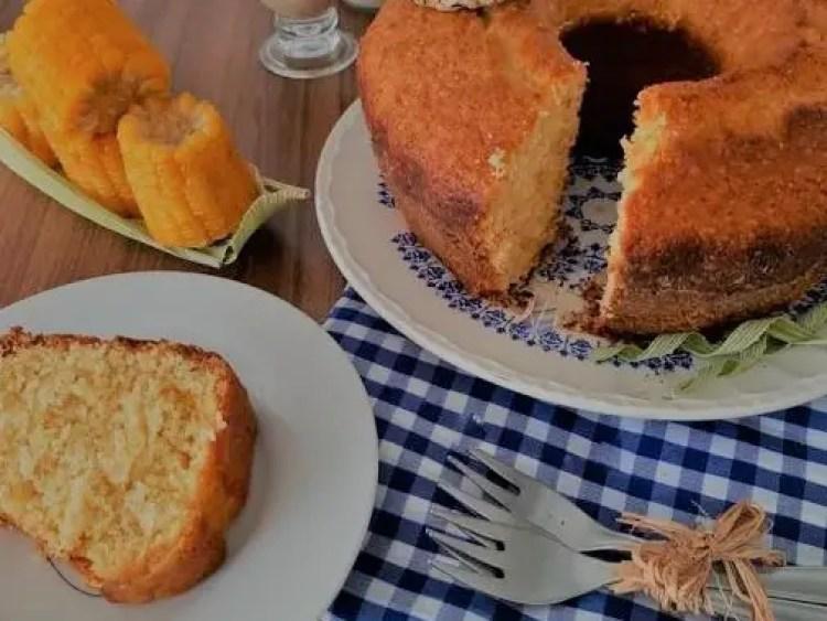 Corn cake recipe