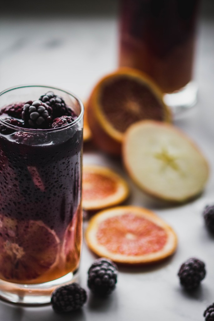 Autumnal Sangria from Boiled Wheat Blog by Kristen McSorley, Bozeman Montana Food Photographer