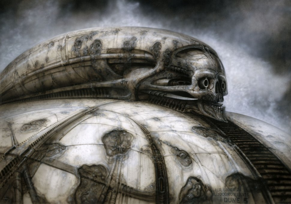 The Dune in our Heads / Boing Boing H.r. Giger Art