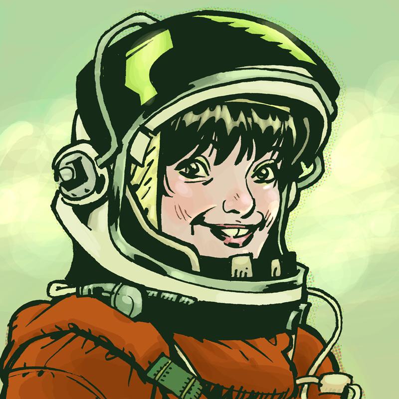 female astronaut clipart - photo #29