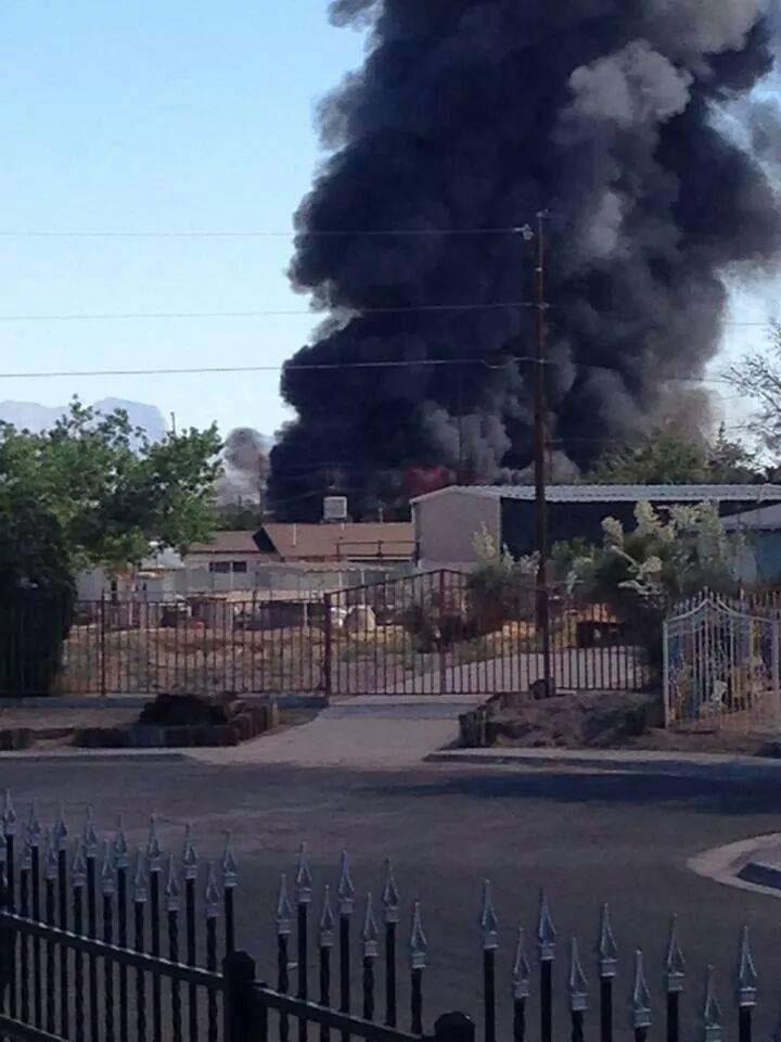 Image: KVIA TV, El Paso, Texas.
