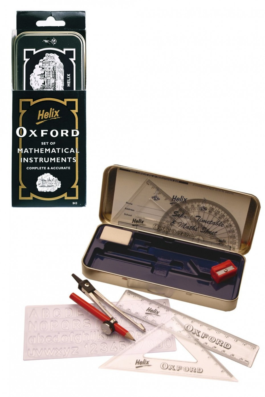 Helix Oxford drafting set