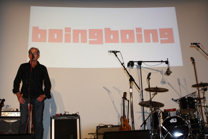 Jeff Greenberg, CEO of Village Studios, and Boing Boing in the house.