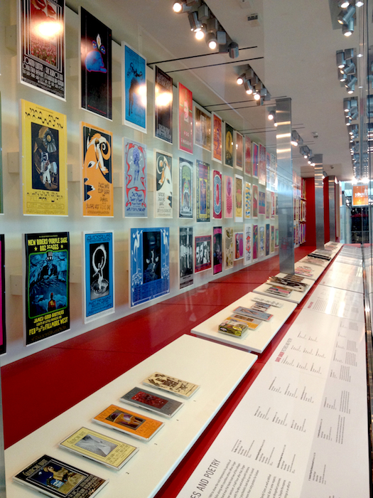 """When Art Rocked"" at San Francisco International Airport. From left to right: The David Singer section."