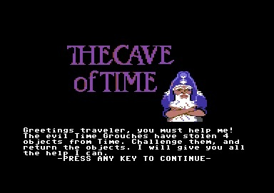 240361-the-cave-of-time-commodore-64-screenshot-beginnings