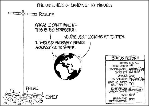 XKCD's coverage.