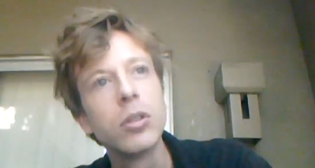 Screencap from a video by Brown that became central to the government's case against him.