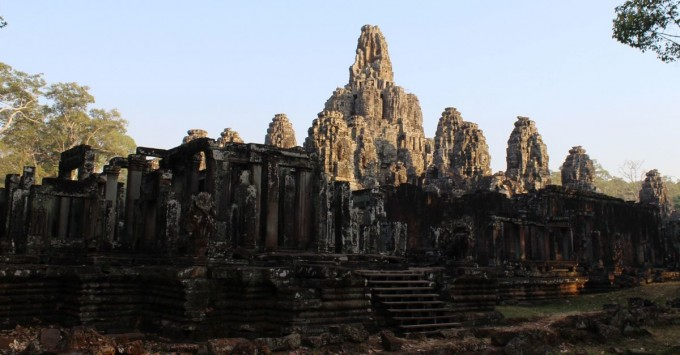 Bayon in Angkor Archaeological Park