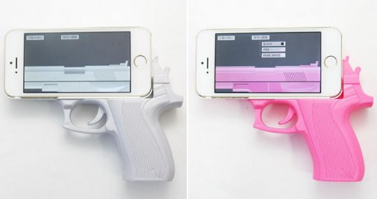 Today In Bad Ideas Handgun Replica Iphone Cases Boing Boing