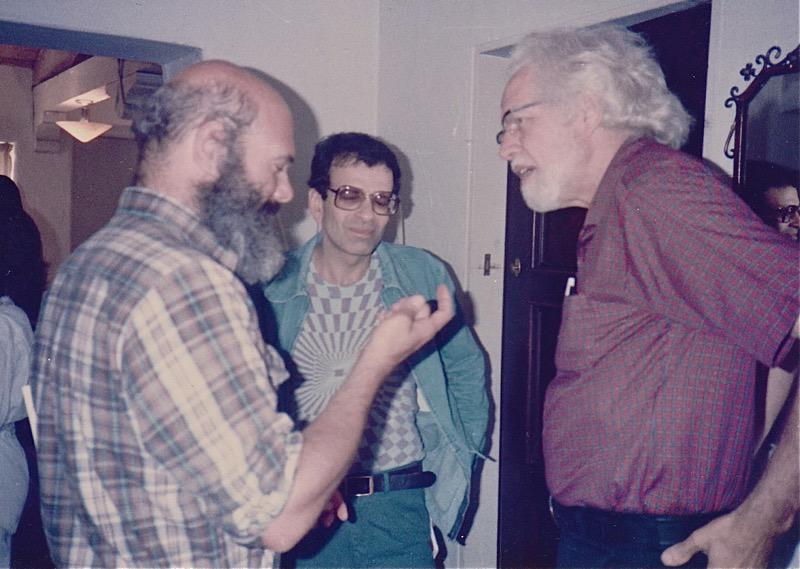 From left to right: Andy Weil, Michael Horowitz, Sasha Shulgin