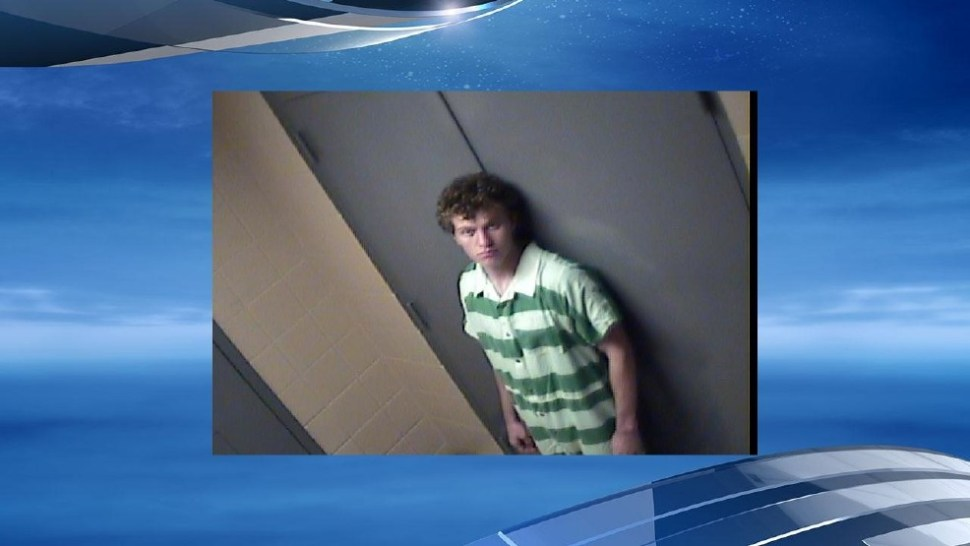 Hunter John Drexler, one of the two teens accused of murdering a couple who were grandparents in Arkansas.