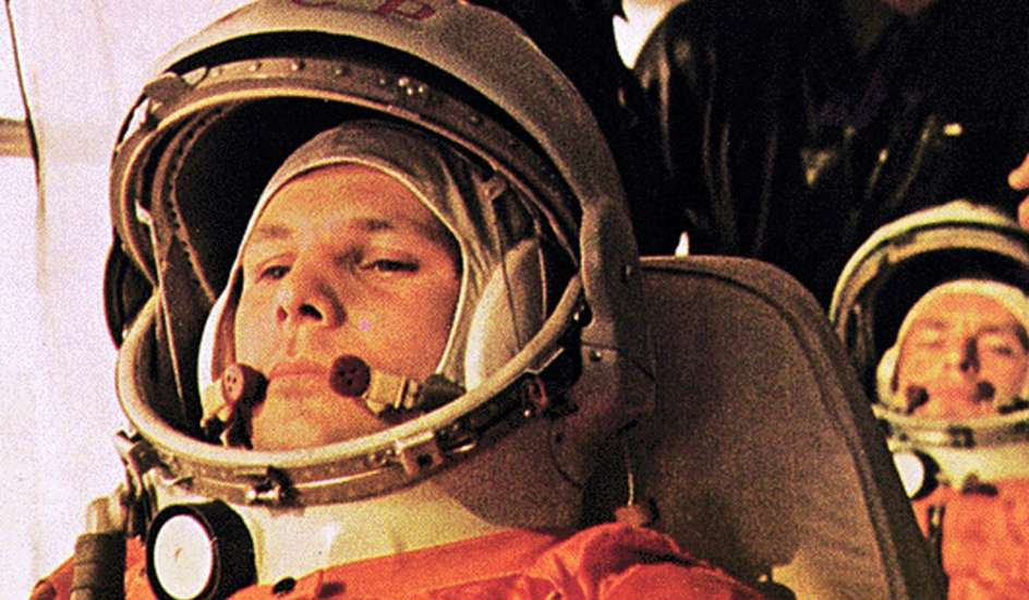 Yuri Gagarin, Soviet cosmonaut and first human in space