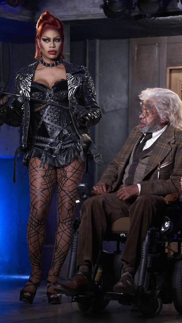 Laverne Cox and Ben Vereen star in Fox's 'Rocky Horror Picture Show' remake. (Photo: Fox)