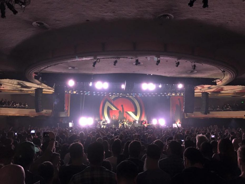 Prophets of Rage at The Hollywood Palladium. Photo courtesy of the band's Facebook.