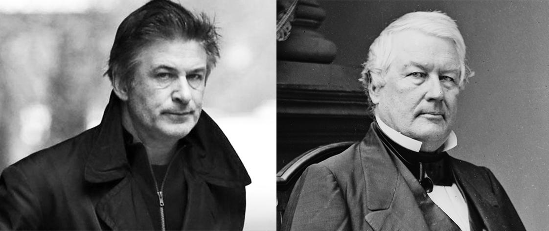 Alec Baldwin and Millard Fillmore