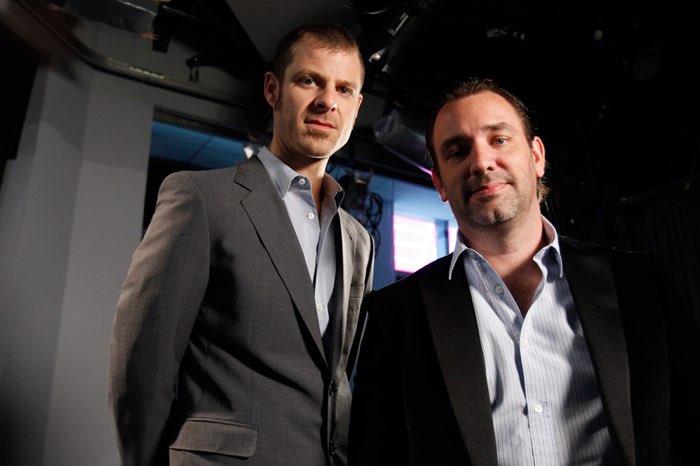 """South Park"" creators Matt Stone and Trey Parker. REUTERS"