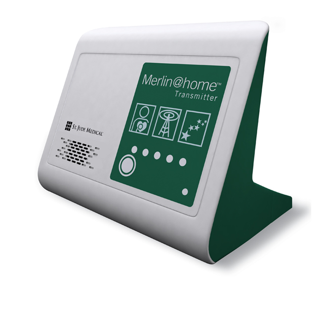 Merlin@Home by St. Jude Medical, a remote cardiac device transmitter for health care use.