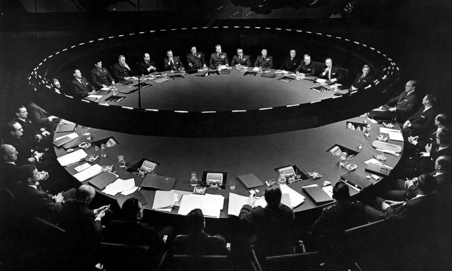 That Dr. Strangelove scene where the U.S. President phones Russia about an  imminent air strike   Boing Boing